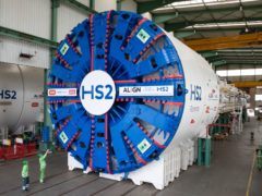 HS2 will launch its first giant tunnelling machine on Thursday (HS2/PA)