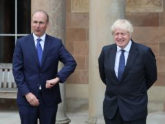 Prime Minister Boris Johnson (right) and Taoiseach Micheal Martin are to meet on Friday (Brian Lawless/PA)