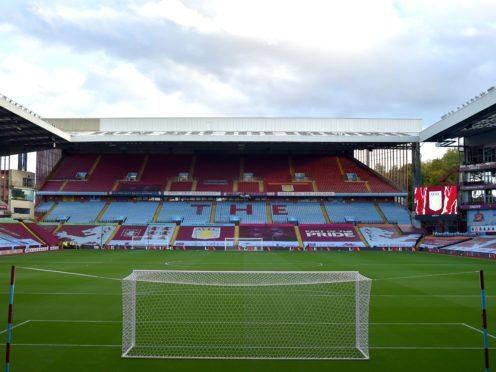 Villa Park has emerged as a potential venue for the Champions League final (Rui Vieira/PA)