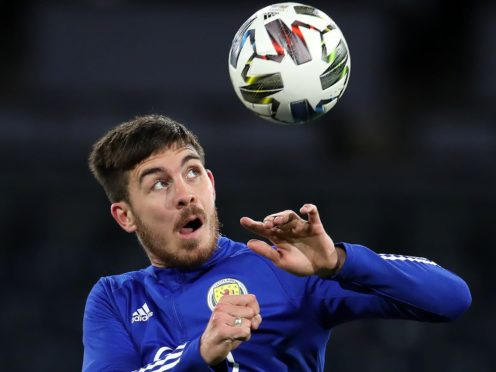 Scotland's Declan Gallagher was 28 when he made his debut against Cyprus (Andrew Milligan/PA)