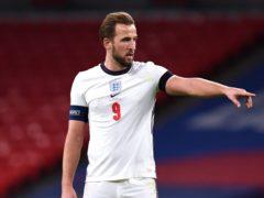 Harry Kane is captaining England into the Euros (Neil Hall/PA)