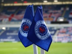Rangers' party went ahead behind closed doors (Andrew Milligan/PA)
