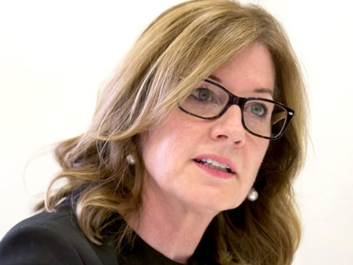 Elizabeth Denham believes the public must trust digital Covid certificates for them to work (ICO press office/PA)