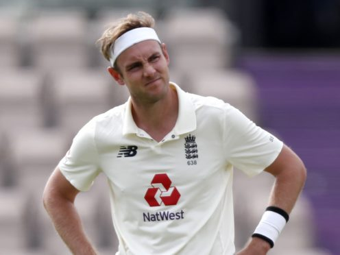 Stuart Broad is looking forward to a big 2021 despite missing out on the WTC final (Alastair Grant/PA)