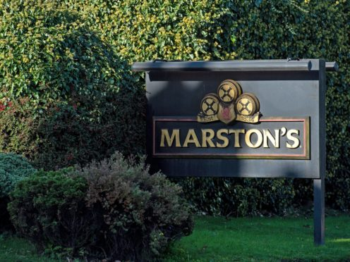 Pub operator Marston's has announced that Andrew Andrea is to become its next chief executive (Jacob King/PA)