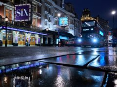 The Lyric Theatre in the West End (John Walton/PA)
