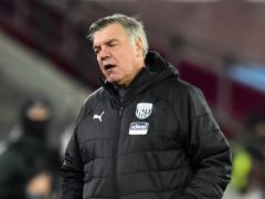Sam Allardyce could not rescue West Brom (PA)