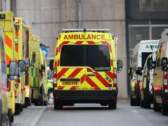The South Western Ambulance Service has declared a critical incident (Yui Mok/PA)