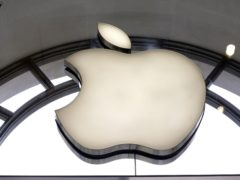 Apple logo (Edmond Terakopian/PA)