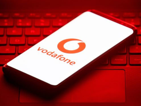 Vodafone lost out on roaming charges due to Covid (Dominc Lipinski / PA)