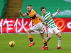 Motherwell's Allan Campbell is set for a move (Jane Barlow/PA)