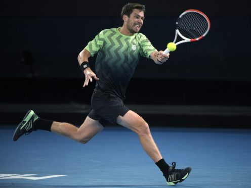 Cameron Norrie is out of the Italian Open (Andy Brownbill/PA)
