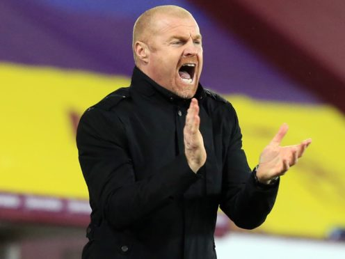 Sean Dyche has high hopes for the rest of the season (Lindsey Parnaby/PA)