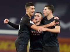 Phil Foden (centre), Rodri (left) and Ruben Dias (right) have all impressed (Jon Super/PA)