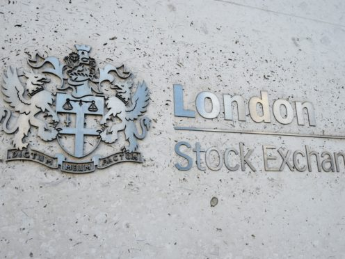 The FTSE 100 closed significantly lower on Tuesday due to inflation fears (Kirsty O'Connor/PA)