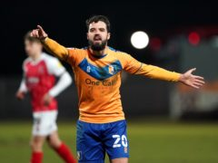 Stephen McLaughlin scored twice for Mansfield (Zac Goodwin/PA)