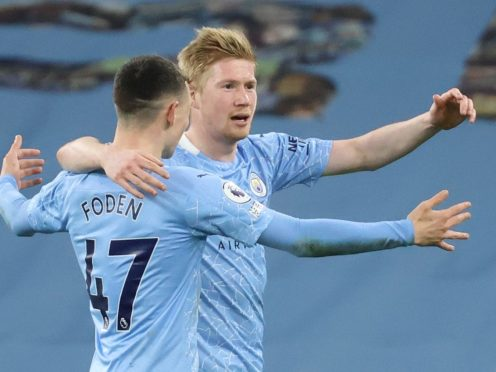 Manchester City are hoping to reach the Champions League final for the first time (Clive Brunskill/PA)