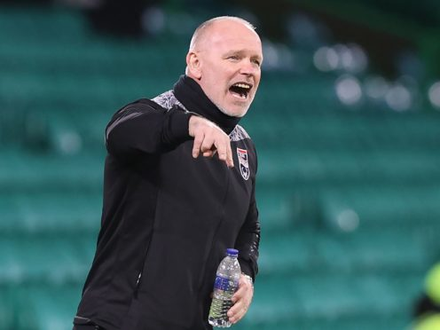 Ross County manager John Hughes insists sitting in the stand is no major problem (Jeff Holmes/PA)