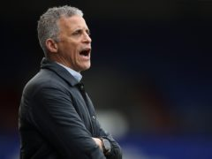 Keith Curle did not have a good return to Mansfield (Martin Rickett/PA)