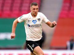 Lee Brown scored twice for Portsmouth (John Walton/PA)