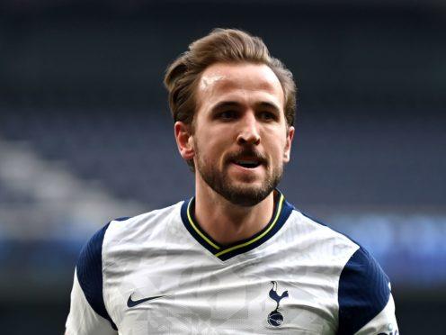 Harry Kane will start for Tottenham against Aston Villa (Daniel Leal Olivas/PA)
