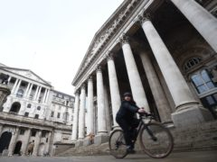 The Bank of England kept interest rates at 0.1% on Thursday (Kirsty O'Connor/PA)
