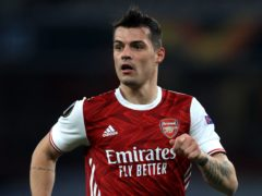 Granit Xhaka could be back to face West Brom (Adam Davy/PA)
