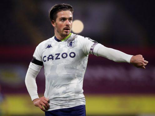 Aston Villa skipper Jack Grealish has been sidelined by a shin problem (Molly Darlington/PA).