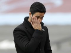 Sam Allardyce has no sympathy for Mikel Arteta, pictured (Paul Childs/PA)