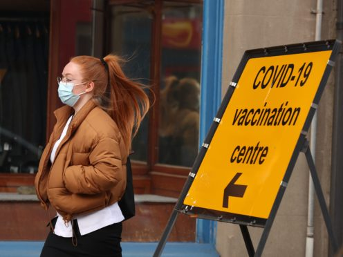 Seven coronavirus deaths were recorded in Scotland in the past week (Andrew Milligan/PA)