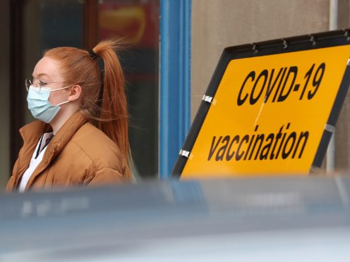 Vaccination centre in Blairgowrie (Andrew Milligan/PA)