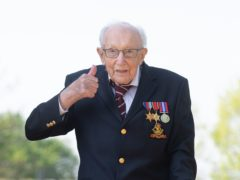Captain Sir Tom Moore (Joe Giddens/PA)