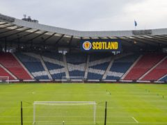 Hampden will be empty for the Scottish Cup final (Jeff Holmes/PA)