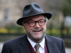 George Galloway said he is standing in the Batley and Spen by-election with the aim of ousting Sir Keir Starmer as leader of the Labour Party (Andrew Milligan/PA)