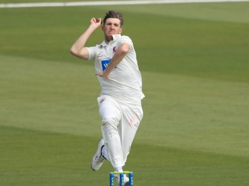 Craig Overton starred for Somerset at Hampshire (Adam Davy/PA)