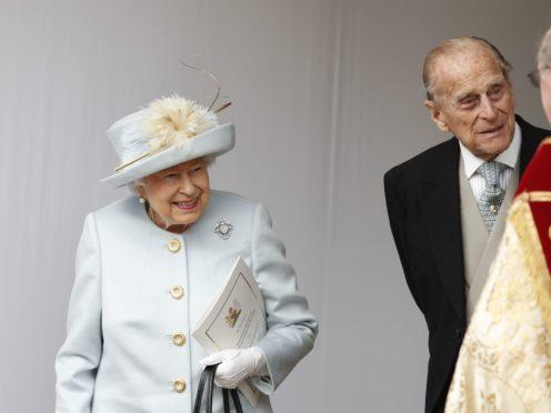 The Queen Elizabeth and the Duke of Edinburgh in 2018