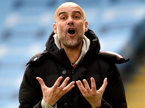 Pep Guardiola insists he will not be resting players ahead of the Champions League final (Rui Vieira/PA)