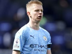 Manchester City defender Oleksandr Zinchenko felt the team lacked focus in the defeat at Brighton (Tim Keeton/PA)