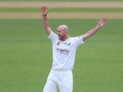 Chris Rushworth has become Durham's all-time leading wicket-taker (Mike Egerton/PA)