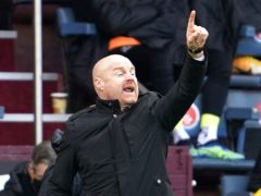 Sean Dyche hopes Burnley can start looking up under their new ownership (Jon Super/PA)