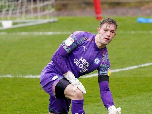 Josef Bursik has joined Lincoln on an emergency loan (Tess Derry/PA)