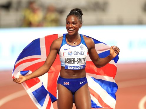 Olympic stars like Dina Asher-Smith are set to be offered Covid vaccines (Mike Egerton/PA)