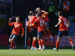 Luton are looking to claim a top-10 finish in the Sky Bet Championship (Tess Derry/PA)