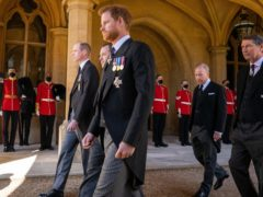 """The Duke of Sussex has accused the royal family of """"total neglect"""" in his mental health documentary series with Oprah Winfrey and said he will not be bullied (Aaron Chown/PA)"""