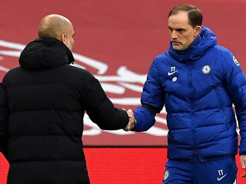 Pep Guardiola (left) and Thomas Tuchel will lock horns in Istanbul (Ben Stansall/PA)
