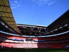 Wembley could host the Champions League final later this month (Neil Hall/PA)