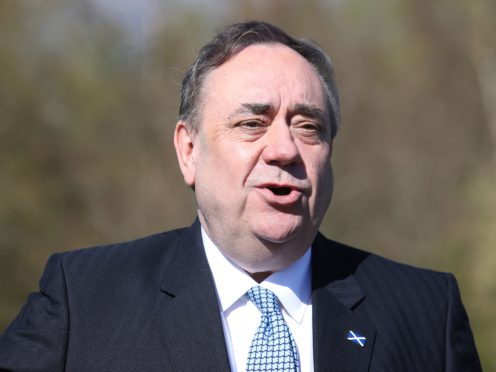 Alex Salmond hopes to return to Holyrood (Andrew Milligan/PA)