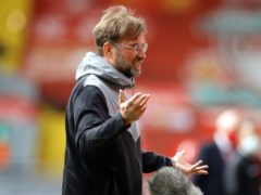 Liverpool manager Jurgen Klopp felt some pundits went too far in their calls for fan protests (David Klein/PA)