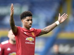 Police are investigating after Marcus Rashford was racially abused online (Peter Powell/PA)