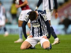 West Brom are on the brink of relegation from the Premier League (Shaun Botterill/PA)